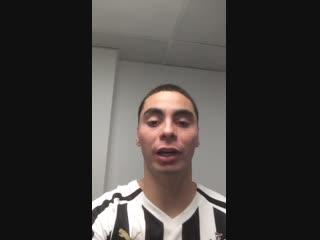 Мигель Альмирон после матча против «Хаддерсфилд Таун» (2:0)