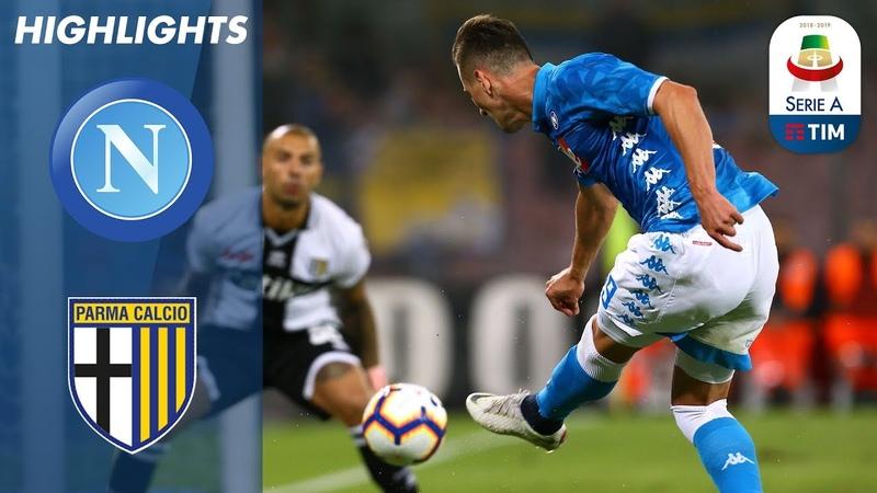 Napoli 3-0 Parma | Convincing Win For Napoli | Serie A