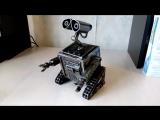 Робот Валли.Ресайкл арт.Wall-e .Recycle art