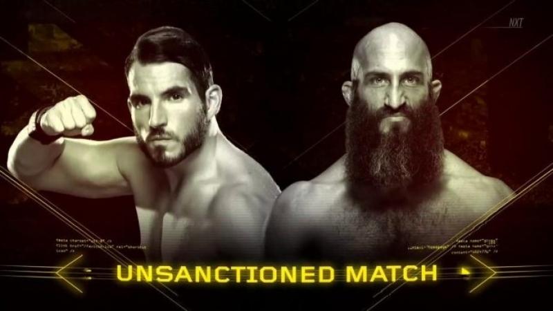 NXT: TakeOver New Orleans- Johnny Gargano vs Tommaso Ciampa