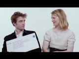 WIRED Robert Pattinson &amp Mia Wasikowska Answer the Webs Most Searched Questions