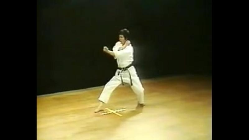Ката каратэ сетокан - Хейан Нидан.mp4