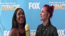 SYTYCD l ABTV Sharna Burgess discusses how hard Genessy Slavic worked while learning the Jive