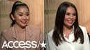 'To All The Boys I've Loved Before': Lana Condor & Janel Parrish Talk Emotional Scenes | Access