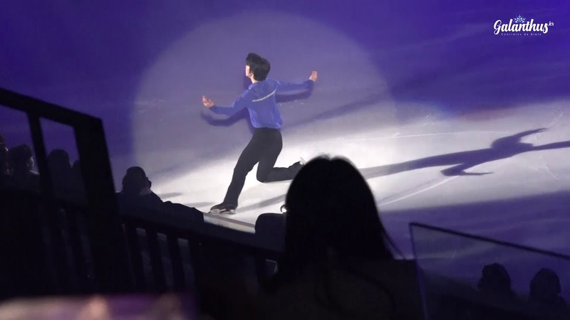 190419 Ice Fantasia 2019 Junhwan CHA 차준환 Boy with a star