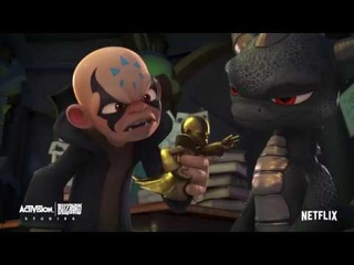 MEAWW Exclusive: Netflix's Skylanders Academy Season 3 [Sneak Peek] Dark Spyro Makes Kaos Jealous