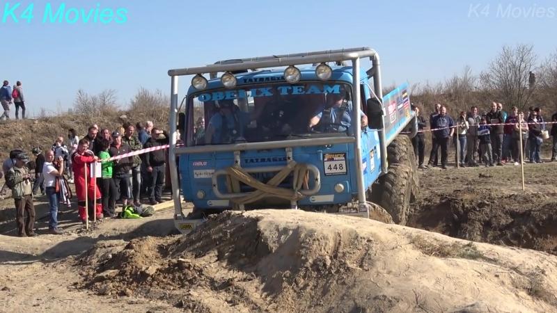 6x6 Truck Trial, Milovice 2018, participant no. 448
