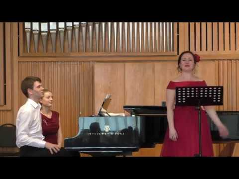 М. де Фалья Три мелодии на ст. Т. Готье