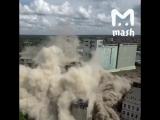 Взрыв здания в Иваново - сносят фабрику