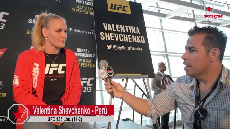 Valentina Shevchenko Esta es la noche mas importante de mi carrera