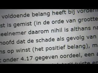 Totale horror in nederlandse rechtbanken