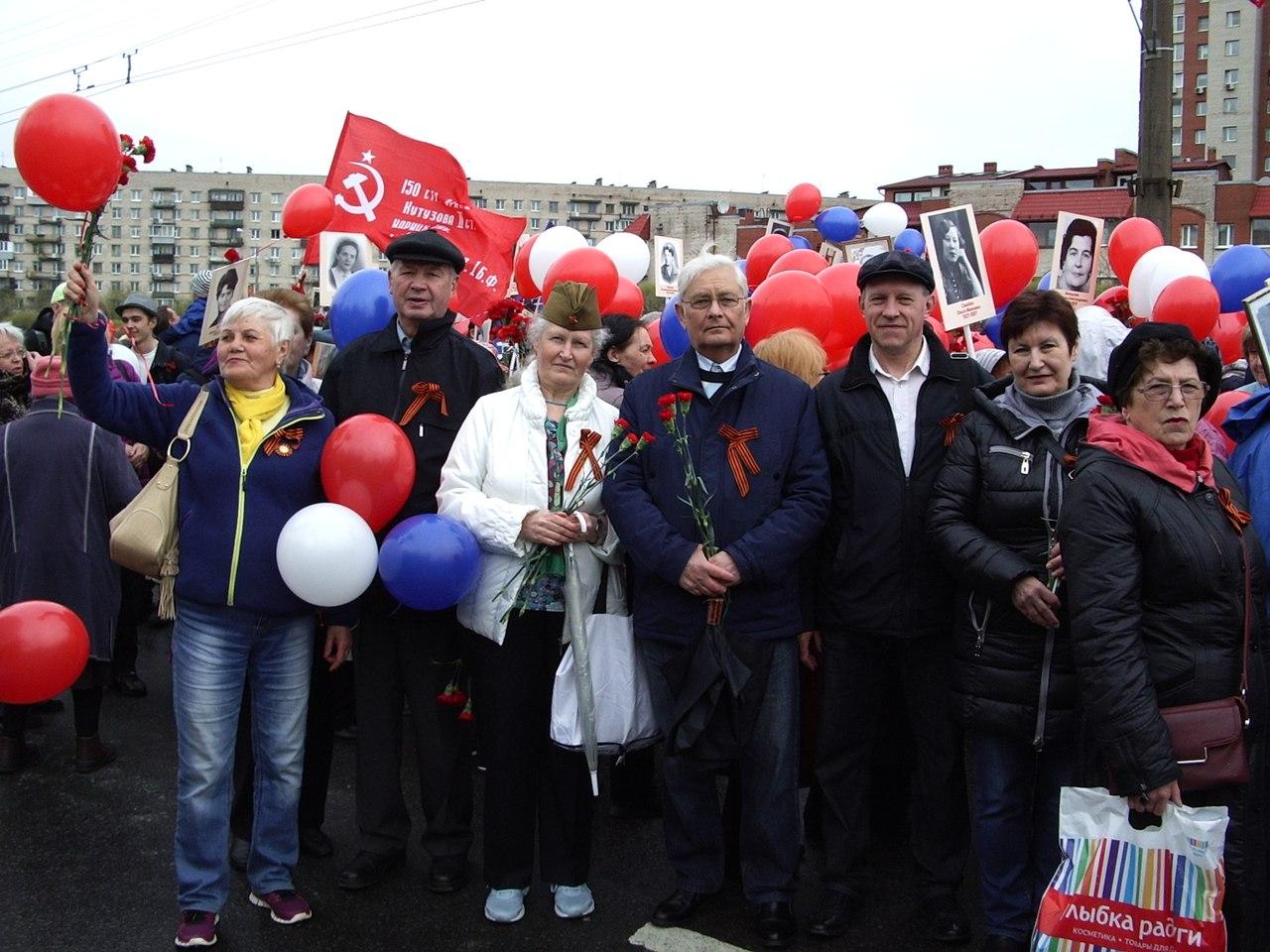 Бессмертный полк, Фрунзенский район СПб