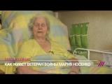 92-летняя ветеран войны не может выйти на улицу, потому что в доме нет лифта. А на 9 мая чиновники не прислали ей даже открытку.