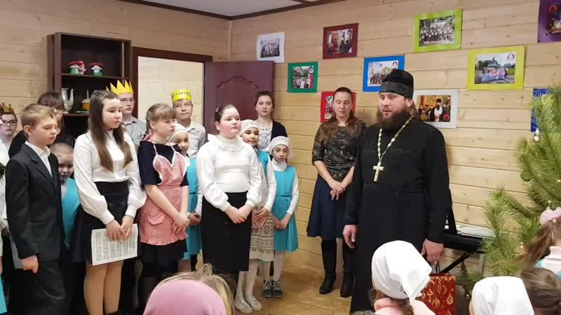 Слово духовного наставника Воскресной школы иерея Евгения Быкова