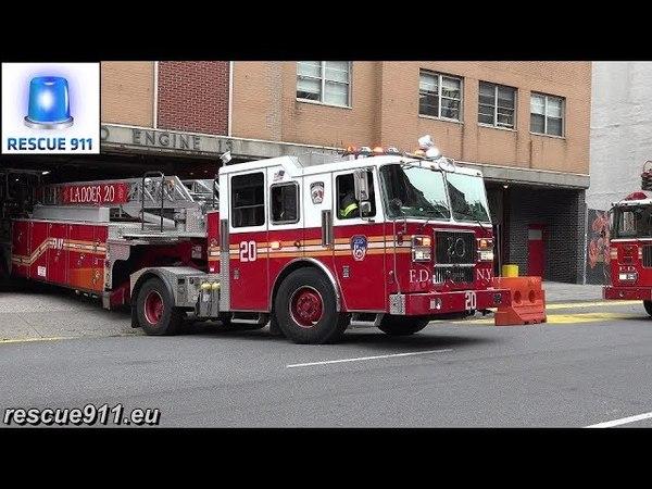 FDNY Tiller Ladder 20 ( Ghostbusters Ladder 8 responding modified)