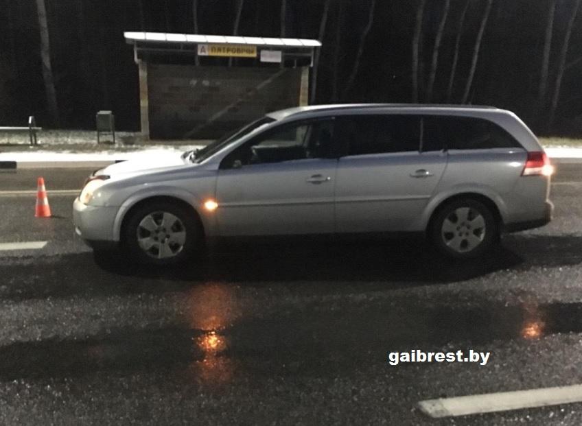 Жабинковский район: в ДТП тяжело травмирован женщина-пешеход