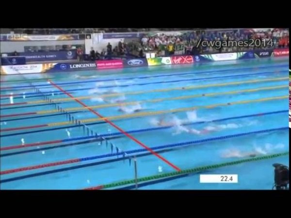 Women's 50m Backstroke Final | Commonwealth Games 2014