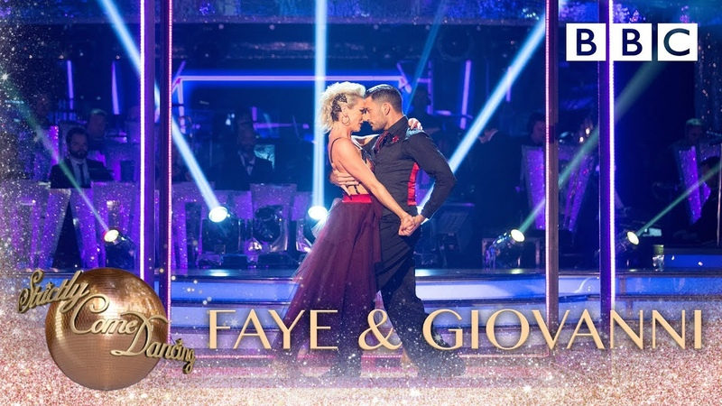 Faye Tozer and Giovanni Pernice Tango to 'Call Me' by Blondie - BBC Strictly 2018