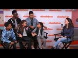 Interview with the cast of Cousins for Life Scarlet Spencer sings and Ron G. wears sweaters