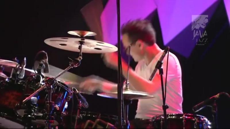 Alain Caron Live at Java Jazz Festival 2015