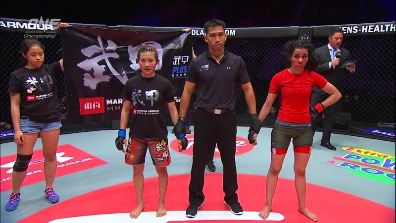 Jenny Huang defeats Amira Badr via Submission at 3:09 of Round 2