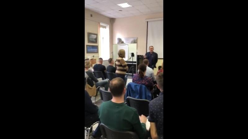 Практик гипноза с Юрием Чекчуриным
