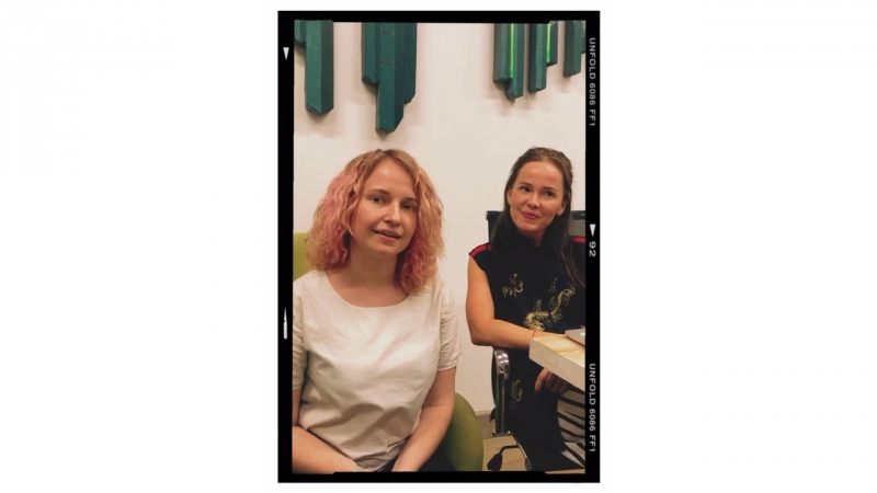 Дарья Сытина и Мария Вересова основательницы школы менеджмента и сервиса Freaky Service