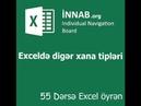 55 dərsə Excel: Dərs 3.3 - Exceldə xana tipləri