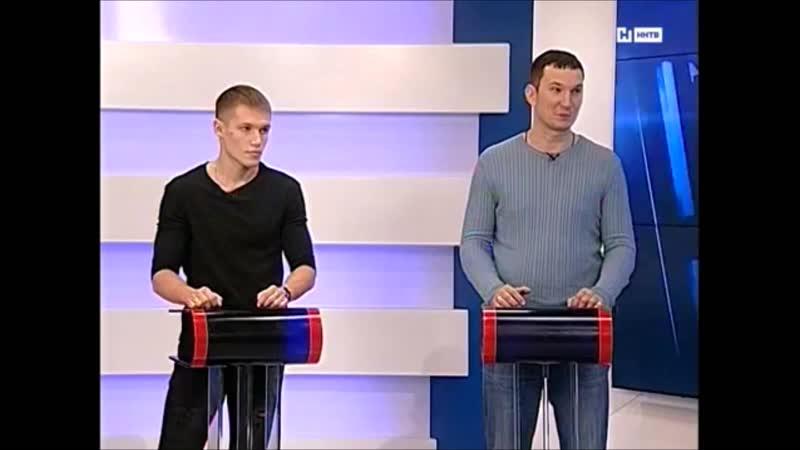 Программа ХЕТ-ТРИК о новом титуле Артема Пашпорина
