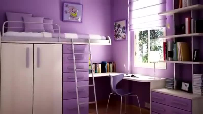 Интерьер и дизайн детской комнаты-Идеальный ремонт