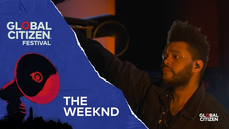 The Weeknd - Call Out My Name | Global Citizen Festival NYC 2018