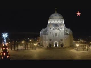 Командование ВМФ РФ приняло участие в Рождественском богослужении в Морском соборе