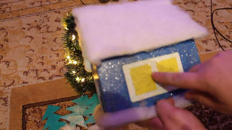Очумелые Ручки Видео №13 Как я Сделал домик под елку