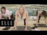 Alessandra Ambrosio Shares her Victoria's Secret Angel Workout ELLE