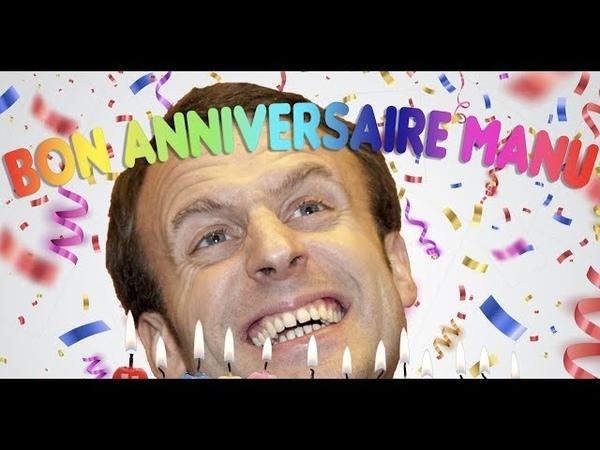 MICRO-TROTTOIR : les Français souhaiteront-ils un « Joyeux Anniversaire » à Emmanuel Macron ?