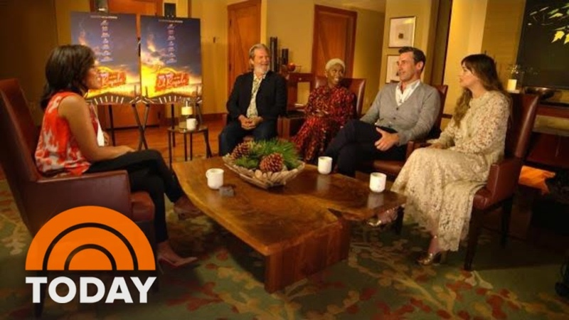 """Sheinelle Jones Talks To The Cast """"Bad Times At The El Royale"""" 