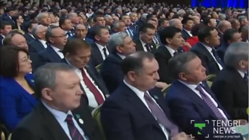 Нурсултан Назарбаев о протестантах на XVI съезде партии Нур Отан_HIGH