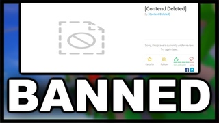 The Best Game on Roblox got BANNED