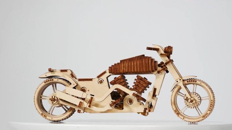 Мотоцикл Ugears