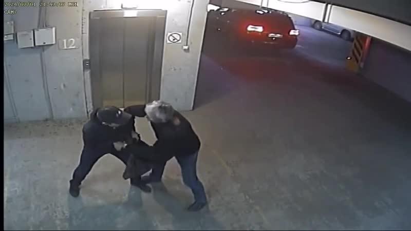 Задержание вооруженного ножом угонщика в Иркутске
