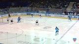 Моменты из матчей КХЛ сезона 1415 Удаление. Шумаков Сергей (Сибирь) за атаку игрока не владеющего шайбой 12.11