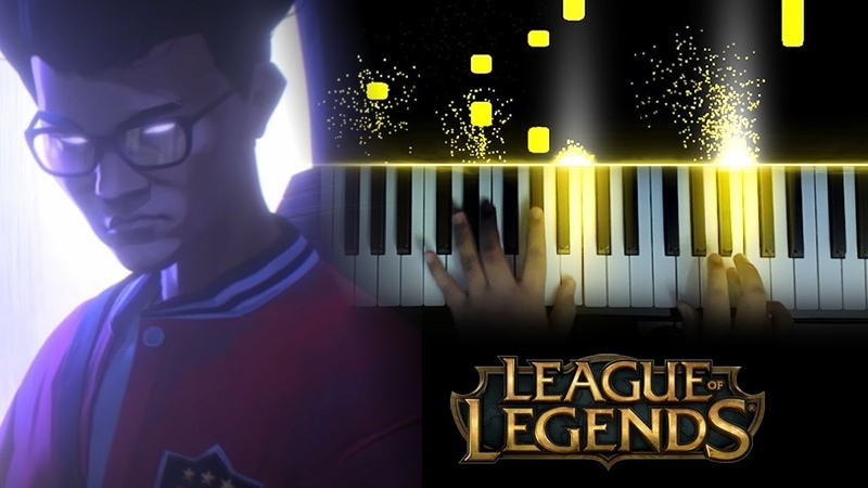 League of Legends RISE Worlds 2018 Theme Piano