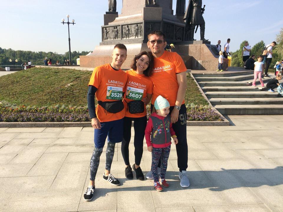 Команда Автофирма ''Светлана'' приняла участие в Ростовском полумарафоне ''Бегом по Золотому кольцу''