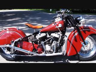 Мотоцикл indian chief, 1946 года