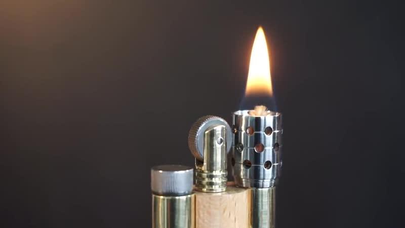Бензиновая зажигалка своими руками _ DIY _ how to make a petrol lighter