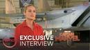 Captain Marvel Interview - Brie Larson   AMC Theatres (2019)