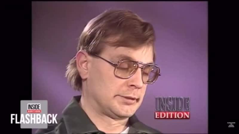 Джеффри Дамер на интервью (прикол).