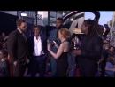 Джош Бролин, Крис Пратт и Уинстон Дьюк на премьере Войны Бесконечности в Лос-Анджелесе