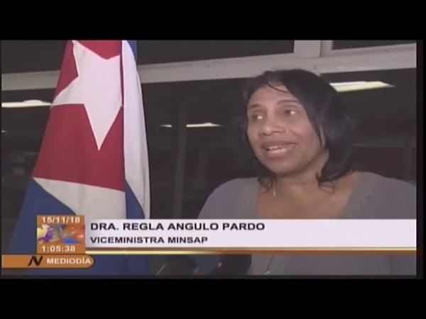 Os 196 primeiros CUBANOS do ''MAIS MÉDICOS'' falam ao regressarem ao seu país! InfoDigit-PC
