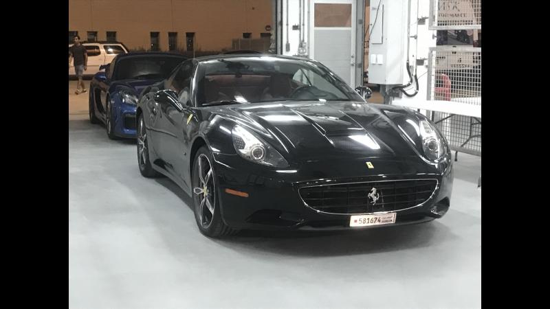 Track day in my friend's Ferrari California